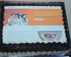 clinic-opening-cake